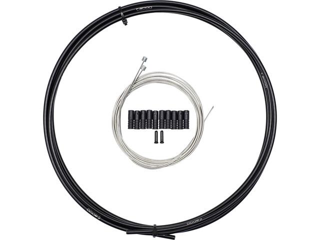 capgo Blue Line ECO Shift Cable Set Long for Shimano/SRAM MTB & ATB/Road, black